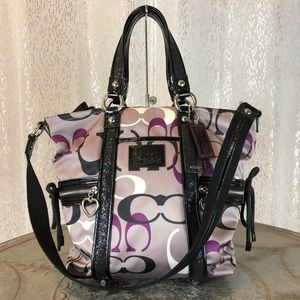 COACH Daisy Optic Print Pocket Tote F22962